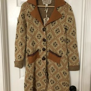 NWT Nick & Mo Gorgeous Sweater Cardigan